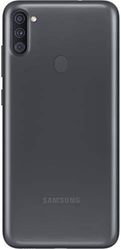 Samsung Galaxy A11 SM-A115A 32GB Single-Sim Android Smartphone - Black (Renewed) (Black, GSM Unlocked) WeeklyReviewer