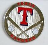Texas Rangers Round Metal Magnet