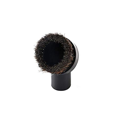 """NiceWave Universal Soft Horsehair Bristle Vacuum Cleaner Dust Brush. Fits All Vacuum Brands Accepting 1 1/4"""" Inner Diameter Attachments Nice and Useful"""