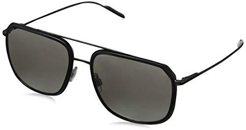 Dolce & Gabbana D&G DG2165 DG/2165 04/6G Grey/Gunmetal Pilot Sunglasses ()