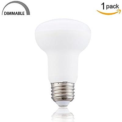 LED BR20 Dimmable 2700K Warm White 7W LED R20 Bulb(65W Equivalent) E26 Base LED Bulb 120 Volt 700 Lumens R20 LED Light Bulb for Bedroom, Living room etc