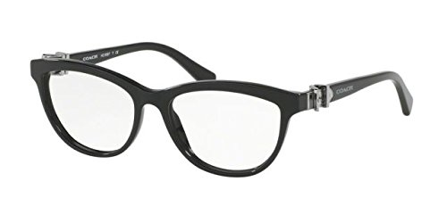 Coach Women's HC6087 Eyeglasses Black - Mens Coach Eyeglasses