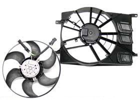 Saab 9-3 900 9000 (94-03) Auxiliary radiator Fan OEM condenser cooling - Turbo Auxiliary Fan