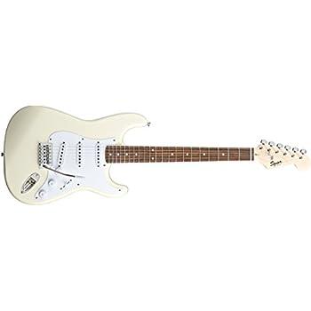 squier 310001580 by fender bullet strat beginner electric guitar arctic white. Black Bedroom Furniture Sets. Home Design Ideas