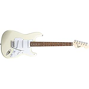 Squier By Fender Bullet Strat Arctic White With Trem Electric Guitar