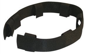 Dean & Tyler ''Pinch Collar Nylon Cover, Fits Size 3mm, Black