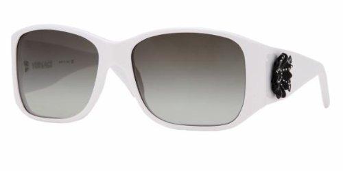 (Versace 4148b White Gray Gradient Sunglasses)