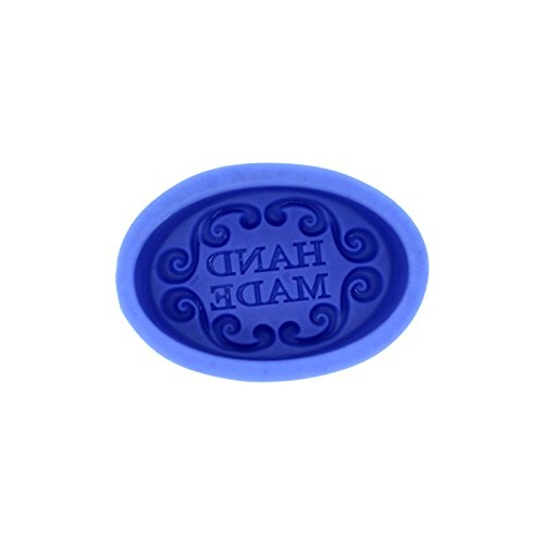 Hand Made Oval Silicone Soap Bar Mold