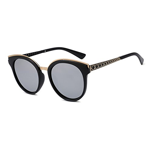 f773408d83 Chic WYYY gafas de sol Sra. Hombres Clásico Retro Cara Redonda Imprimir Luz  Polarizada Protección