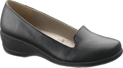 Women's Soft Style® Lindzey (7 W in Black Vitello)