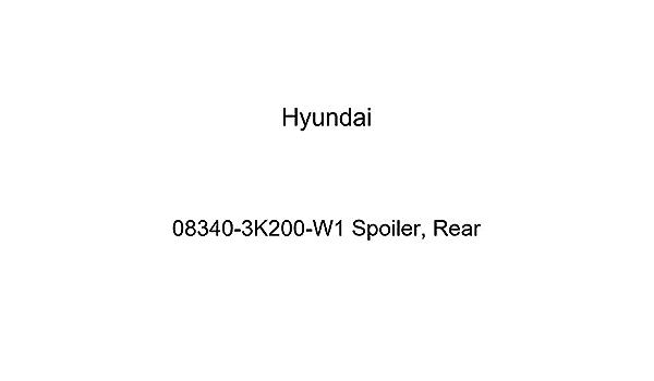 Genuine Hyundai 08340-3K200-DR Spoiler