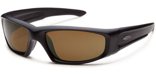 Smith Optics Elite Hudson Tactical Sunglass with Polarized Brown Lens, - Smith Sunglasses Elite Tactical