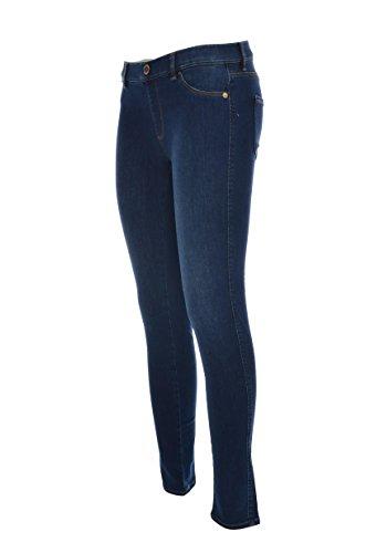 nbsp;wq40707 Tasca 4 Jeans Stampa Donna Scuro Slim Posteriore Love Tasche Moschino TxIBIza
