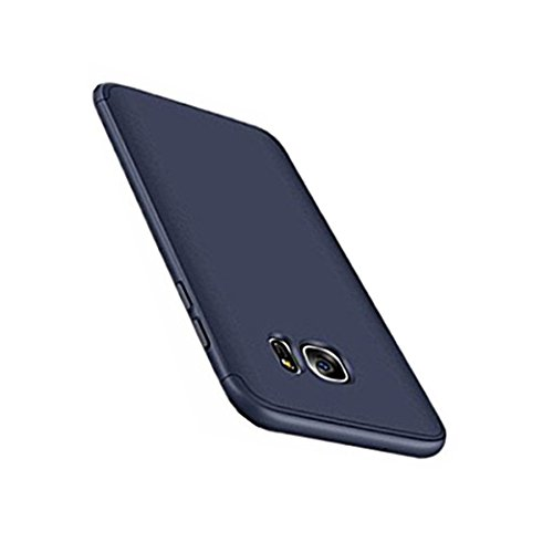 Price comparison product image Beryerbi Samsung Galaxy s6 /s6 Edge Stylish case Thin Hard Case with 3 Detachable Parts Protection Cover (Galaxy s6, Blue)