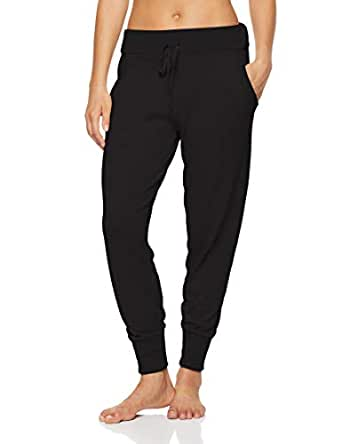 Calvin Klein Women's Knits Sophisticated Lounge Jogger, Black, S