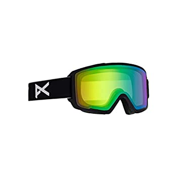 Image of Anon Men's M3 Goggle with Spare Lens, Black Frame Sonar Green Lens; Spare Lens: Sonar Infrared Goggles