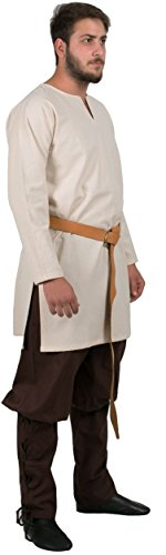 Calvina Costumes Odin Medieval Undertunic Made in Turkey, L