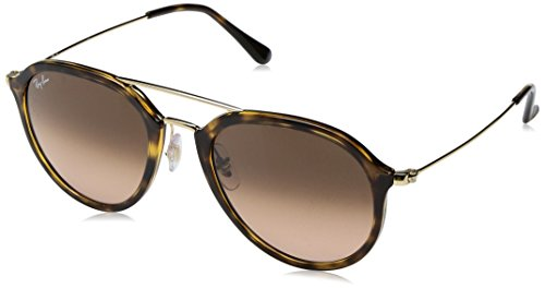 Ray-Ban Injected Unisex Square Sunglasses, Havana, 53 - Ray Sunglasses Ban Pilot