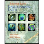 img - for Study Guide for Understanding Earth, Third Edition by Peter L. Kresan (2000-10-13) book / textbook / text book