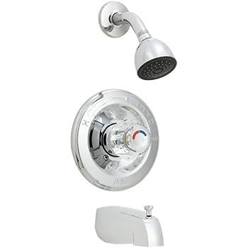 Delta Faucet 1348 Tub/Shower Faucet Chrome - Single Handle