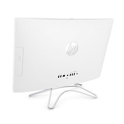 HP 24-inch All-in-One Computer, Intel Core i5-8250U, 12GB RAM, 1TB Hard Drive, Windows 10 (24-f0060, White) للبيع