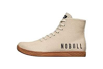 NOBULL Women's High-Top Trainer (7, Ivory)