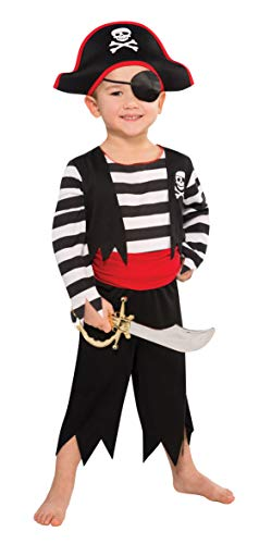 Christy's Toddler Rascal Deckhand Pirate Costume (3-4 ()