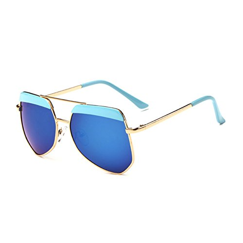 Sinkfish SG80022 Sunglasses for Women,Dazzling Color Oval Non-Polarizer - UV400/Goldenrod - Blue Blockers Wiki