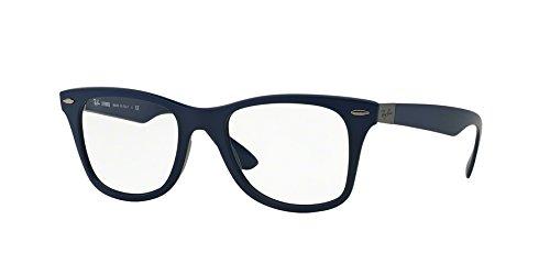 - RAY BAN Eyeglasses RX 7034 5439 Matte Dark Blue 50MM