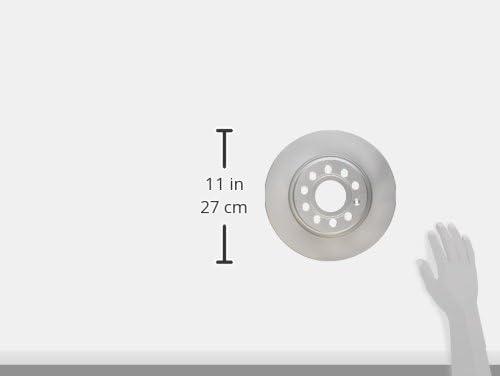 2012 GTI 2009-2012 Eos Bosch 14011492 QuietCast Premium Disc Brake Rotor For Audi: 2010-2013 A3; Volkswagen: 2013-2016 Beetle 2012-2016 Jetta; Rear