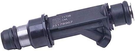 EMIAOTO 4PCS Fuel Injectors 12582704 for 2005-2008 Saturn 2.2L 2.4L # Pontiac