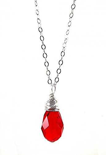 Silver Wrapped Pendant - 2