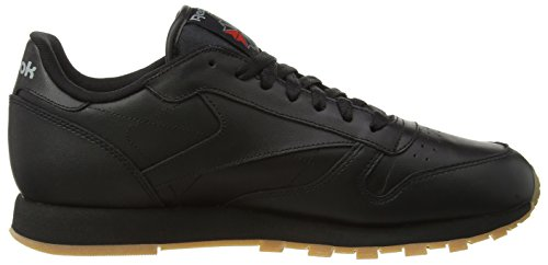 Low Gum Schwarz Classic Top Leather Reebok Herren Black qx4gzPqtw