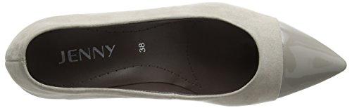 JennyGranada - Zapatos de Tacón Mujer Beige