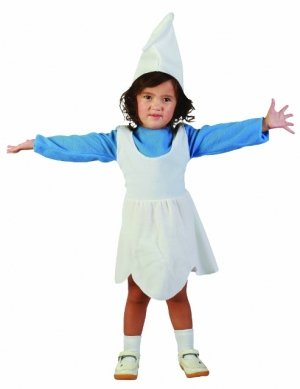 AxTokyo Girls Boys Toddler Smurfs Costume Hat Blue White Smurfette Fancy  Dress  Amazon.co.uk  Clothing 4aa9e8fad