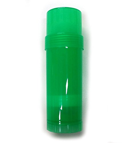 - 6 ct. Deodorant Twist-up Empty Containers (GREEN) - for lotion bar, heel balm etc. (2 oz.) ...