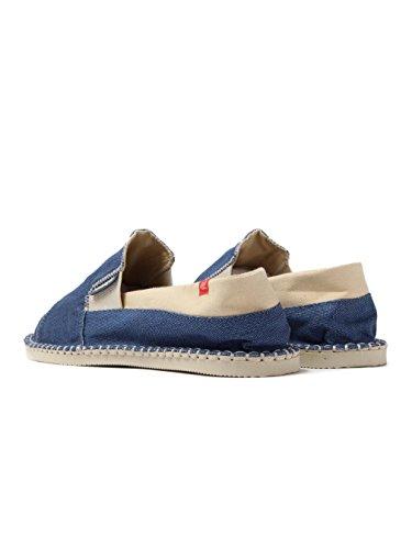 Havaianas Unisex Schuhe Herren und Damen 4137008 Yacht Leichter Espadrilles mit Gummisohle, Clog Navy Blue