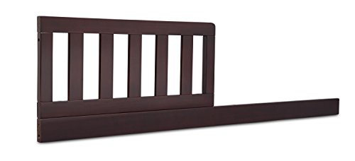 Delta Children Daybed/Toddler Guardrail Kit, Dark (Toddler Conversion Kit)