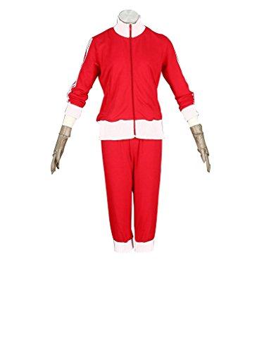 Mtxc Women's Vocaloid Cosplay Costume Meiko Matryoshka Size XXXL-Plus Red