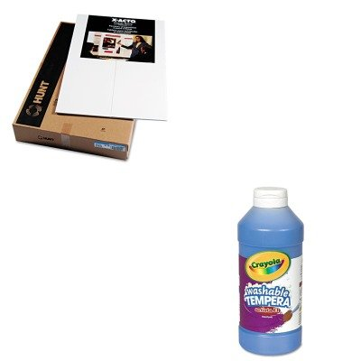KITCYO543115042EPI902090 - Value Kit - Elmers CFC-Free Polystyrene Foam Premium Display Board (EPI902090) and Crayola Artista II Washable Tempera Paint (CYO543115042) by Elmer's