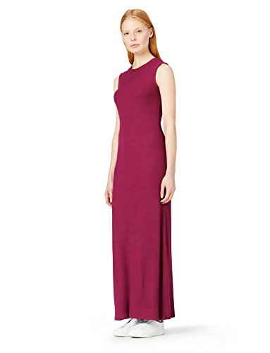 Red Dress Costine a Port Slim MERAKI Tawny Fit Donna Maxi Rosso 8wR74q5
