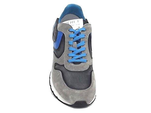 Voile Blanche Scarpa Uomo Liam 9142 Sneaker camoscio Grigio E8102 2018 Nueva En Venta Il9CGgo