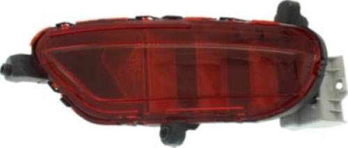 Go-Parts OE Replacement for 2017-2018 Mazda Cx-5 Rear Bumper Reflector - Right (Passenger) (CAPA Certified) MA1185108C