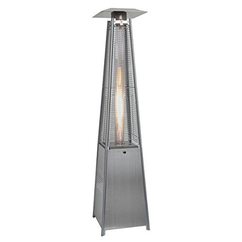 Goplus® New Standing Outdoor Patio Heater Deck Pyramid Natu