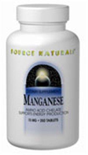 Source Naturals Manganèse 15 mg