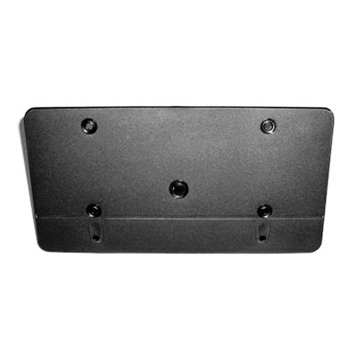 MAPM Premium LICENSE PLATE BRACKET; WITHOUT SPORT PACKAGE; MATTE-BLACK