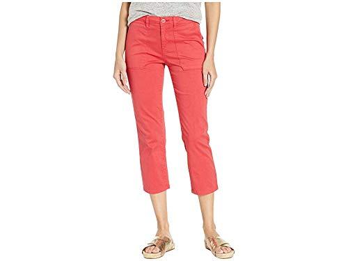 - Sanctuary Women's Peace Crop Chino Pants Poppy Red 25 25