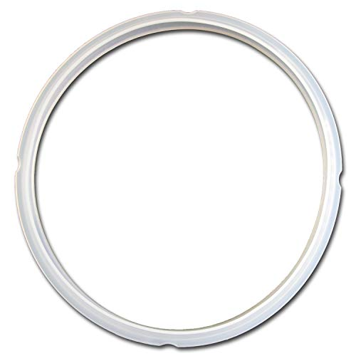 ToullGo 1 Ring GJS Gourmet Sealing Compatible with Cuisinart Pressure Cooker. Part number CPC-SR600, ONE SIZE, Clear -