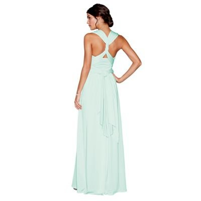 Debut Womens Light Green Multiway Maxi Dress: Debenhams: Amazon.co.uk: Clothing