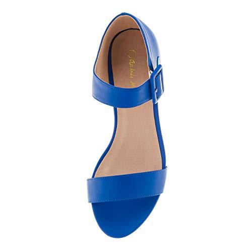 42 Pequeñas am5367 para Tallas Diferentes 35 45 Grandes Mujer sandalias Machado Azulon Y 32 Soft Andres En Colores 4qUHWwZx
